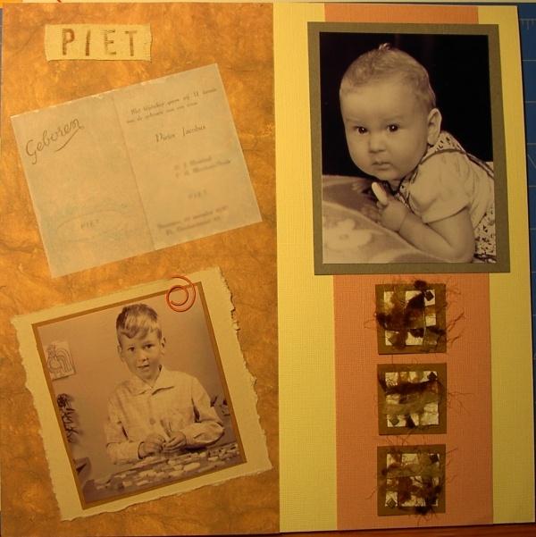 U kijkt naar foto's van het artikel: Stamboom boek